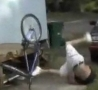 Funny Links - Eats It On Bike But Remains Cool