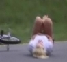 Funny Links - Blonde Chick Bicycle Fall