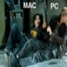 Funny Pictures - Mac And PC Firefight