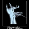 Cool Pictures - Firework Mishap