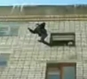 Cool Links - Fourth Story Jump Onto Snow