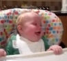 Funny Links - Baby Laughs Like His Father