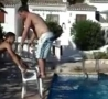 Funny Links - Garden Chair Pool Dive Fail