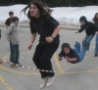 Funny Links - Jump Rope Action Shot