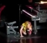 Funny Links - Lady Gaga Falls Off Her Piano