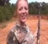 Funny Links - Blonde Girl Out Shoots Guy (.243 Rifle)