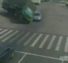 WTF Links - Scary Truck Runs Over Small Car