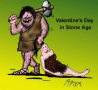 Valentines Pictures - Valentines Stone Age