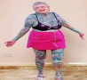 Cool Pictures - Tattoo Granny