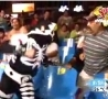 Funny Links - Mexican Wrestler Punches Fan In The Face