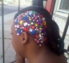 Funny Links - Bejeweled Hair