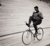 Funny Pictures - Boastful Cyclist
