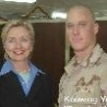 Political Pictures - Soldier Owns Hillary
