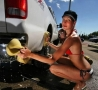 Cool Pictures - Car Washing Cutie