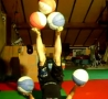 Cool Links - Chick Juggles Five Balls With Her Hands And Feet