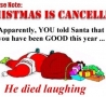 Christmas Pictures - Christmas Is Cancelled