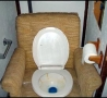 Funny Pictures - Comfortable Toilet