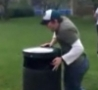 Funny Links - Trashcan Leapfrog Accident