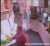 Funny Pictures - Lady Gets Owned By A Soda Machine