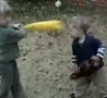 Funny Links - Toy Bat Vs Baby Brother