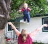 Funny Pictures - Fly Baby!
