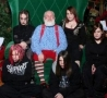 Funny Links - Goth Party Santa