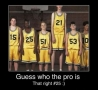 Funny Pictures - Guess the Pro
