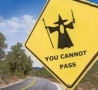 Funny Links - Halloween Safe Zone - Witches Cannot Pass