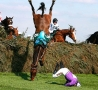 Funny Pictures - Horse Fall
