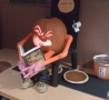Weird Funny Pictures - How Pmpkin Pies are Made