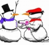 Christmas Pictures - How To Rob A Snowman