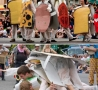 Funny Pictures - Human Sandwich