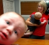 Funny Pictures - Intentional Baby Photobomb