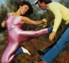 Funny Pictures - Kicking in Spandex