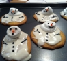 Funny Pictures - Melting Snowman Cookies