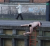 Funny Links - Naked Guy on Pier