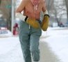 Funny Pictures - Out for a Jog