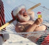 Funny Pictures - Relaxed Santa