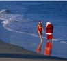 Christmas Pictures - Santa On Vacation