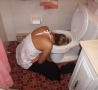 Funny Pictures - She's Had One Too Many....