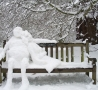 Weird Funny Pictures - Snow Date