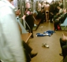 Funny Pictures - Subway Streaker
