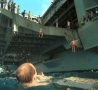 Funny Links - Swimming by Side of Ship