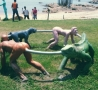 Funny Links - The 'Not Quite ' Human Centipede