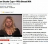 Funny Pictures - Woman Shoots Cop
