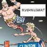 Political Pictures - Clinton Tag Team